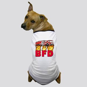 BFD Fire Department Dog T-Shirt