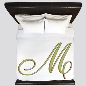 Choose Your Colors Monogram King Duvet