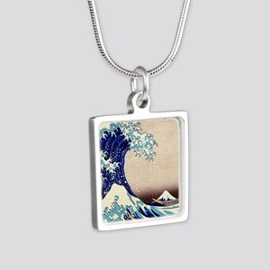 Great Wave Off Kanagawa Necklaces