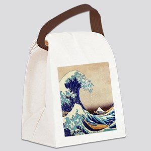 Great Wave Off Kanagawa Canvas Lunch Bag