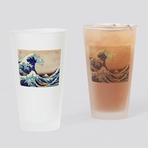 Great Wave Off Kanagawa Drinking Glass