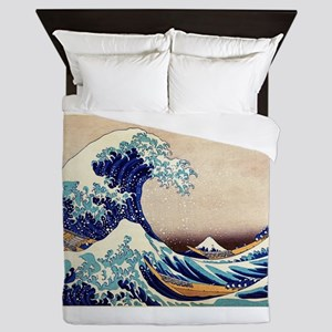Great Wave Off Kanagawa Queen Duvet