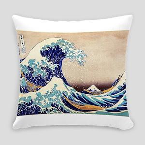 Great Wave Off Kanagawa Everyday Pillow