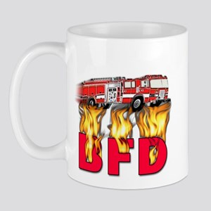 BFD Fire Department Mug