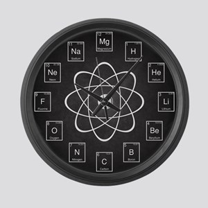 Periodic Table Elements Large Wall Clock