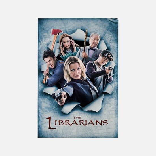 The Librarians Season 2 Rectangle Magnet