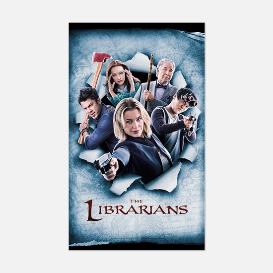The Librarians Season 2 Sticker (Rectangle)