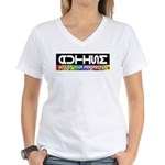 Adjust Your Perspective Women's V-Neck T-Shirt