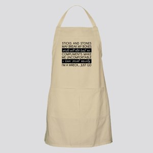 Sticks and Stones and... Anxiety Apron