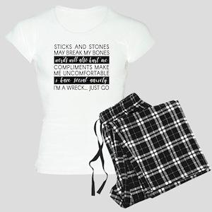 Sticks and Stones and... Anxiety Pajamas