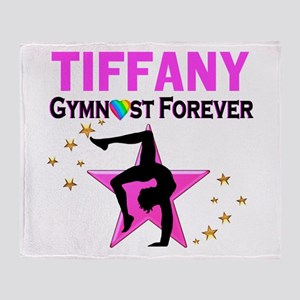 GYMNAST FOREVER Throw Blanket