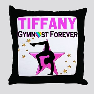 GYMNAST FOREVER Throw Pillow