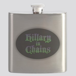Hillary in Chains Flask
