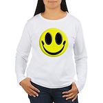 Smiley Face Women's Long Sleeve T-Shirt