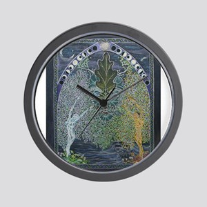 Gateway through the Veil of Shadows Wall Clock