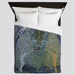 Gateway through the Veil of Shadows Queen Duvet