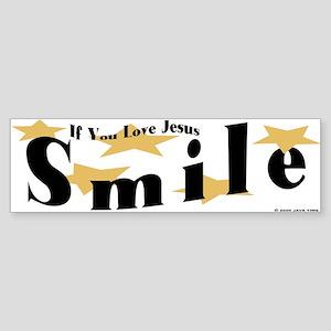 Love Jesus Bumper Sticker