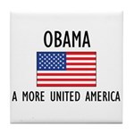 Obama Flag Tile Coaster