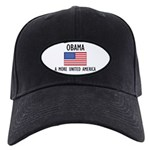 Obama Flag Black Cap