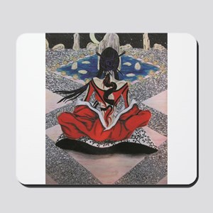 Dreaming the World Mousepad