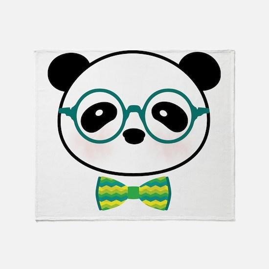 Funny Pandas Throw Blanket