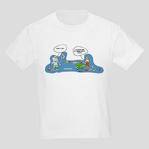 Funny tennis fan cartoon T-Shirt for cute kids