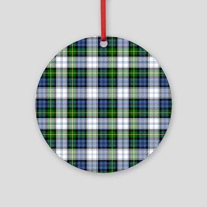 Tartan - Gordon dress Ornament (Round)