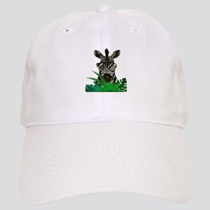Hipster Zebra Cap