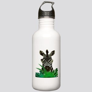 Hipster Zebra Stainless Water Bottle 1.0L