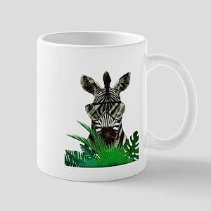 Hipster Zebra Mugs