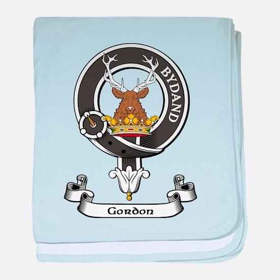 Badge - Gordon baby blanket
