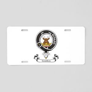 Badge - Gordon Aluminum License Plate