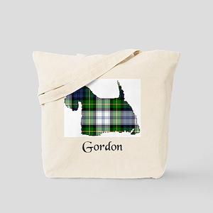 Terrier-Gordon dress Tote Bag