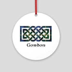 Knot - Gordon Ornament (Round)