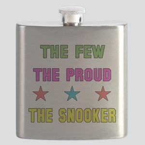 The Few, The Proud, The Snooker Flask