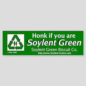 Soylent Green Bumper Sticker