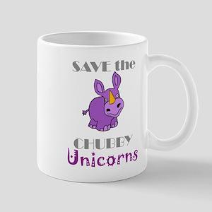 Save the Chubby Unicorn Mugs
