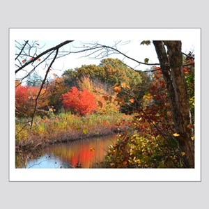 Cape Cod Fall Small Poster