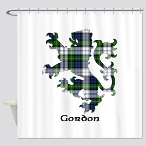 Lion-Gordon dress Shower Curtain