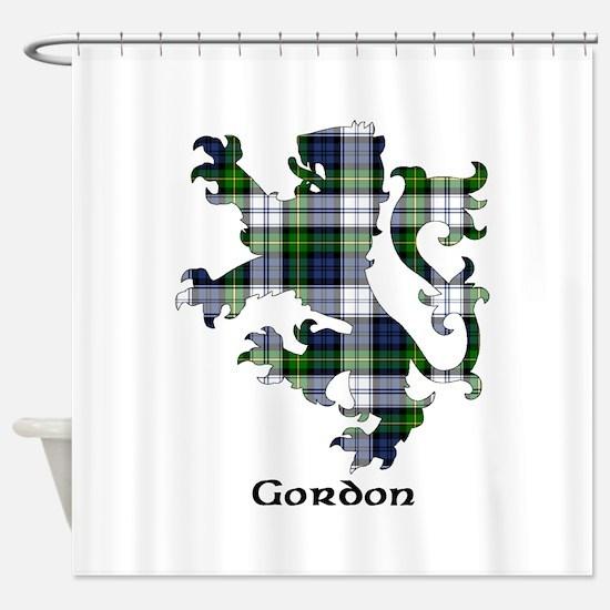 Lion-Gordon dress Shower Curtain