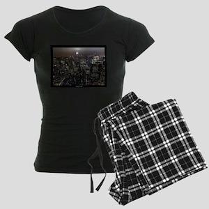 New York Souvenirs Empire St Women's Dark Pajamas
