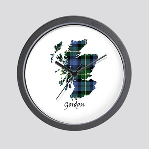 Map - Gordon Wall Clock