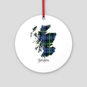 Map - Gordon Ornament (Round)