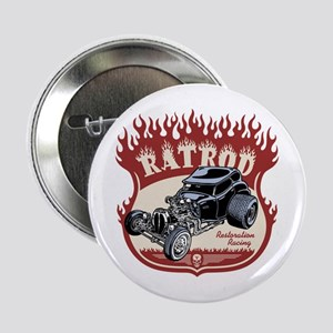 "Rat Rod 1 2.25"" Button"