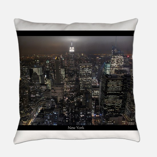 New York Souvenirs Empire State NY Everyday Pillow