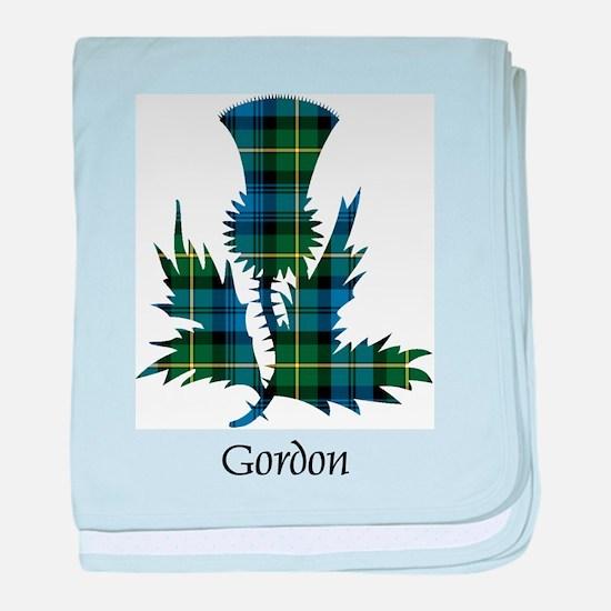 Thistle - Gordon baby blanket