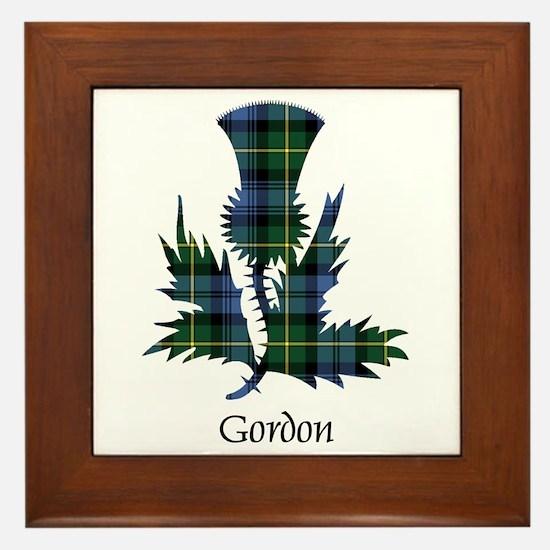 Thistle - Gordon Framed Tile