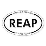Reap Window Sticker Decal (oval)