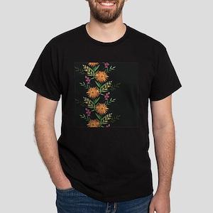 Autumn Flowers Dark T-Shirt