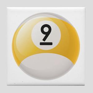 Billiard Pool Ball Tile Coaster